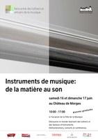 Musikinstrumente: Von der Materie zum Klang
