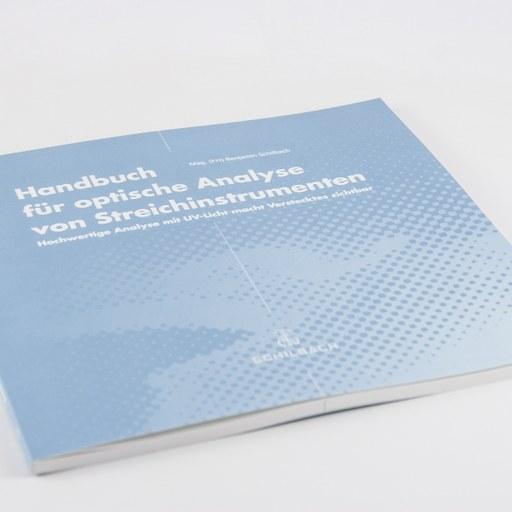 Handbuch für optische Analyse von Streichinstrumenten