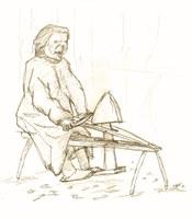 """Vortrag zur Saint Cécile der Aladfi 2012 in Samoën """"in Vergessenheit geratene Arbeitstechniken"""""""