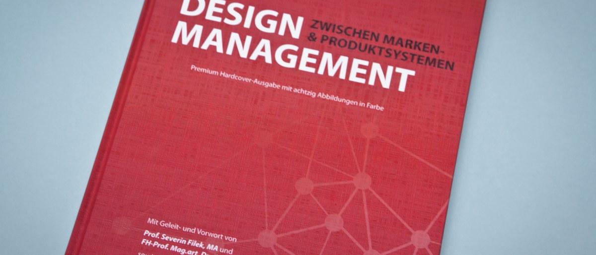 Design Management Buch Veröffentlichung