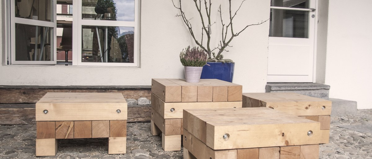 Neue Terrasse für das Atelier in Morges