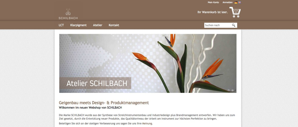 Der Onlineshop von SCHILBACH