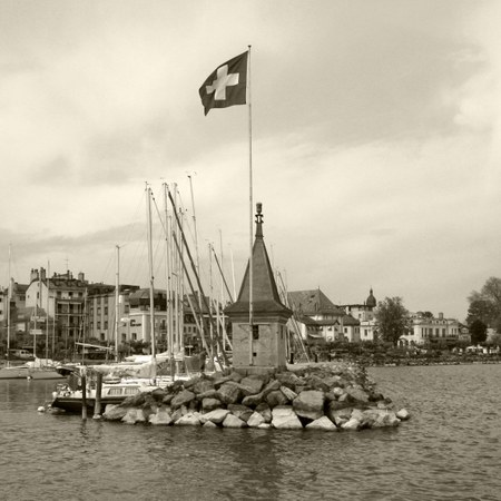 Hafen von Morges