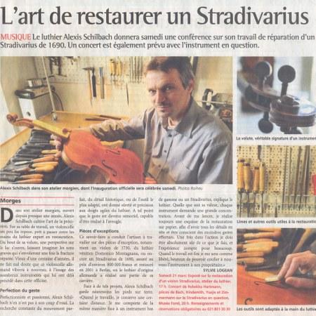 Journal de Morges 20.03.2009 S.11