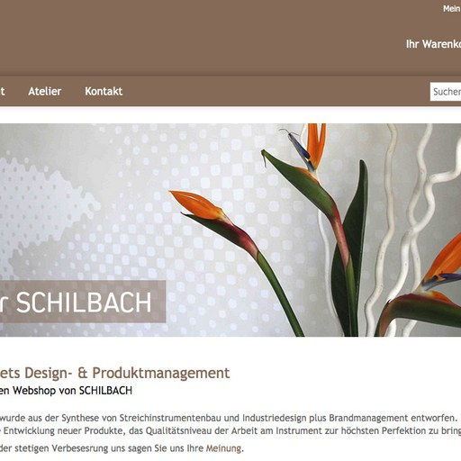 SCHILBACH | New Online-Shop for lutherie