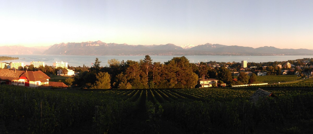 Morges - A pearl on the Lake Geneva
